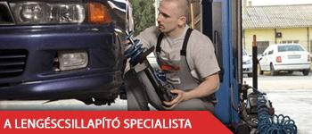 A lengéscsillapító specialista